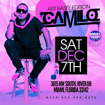 Art Basel Edition DJ Camilo