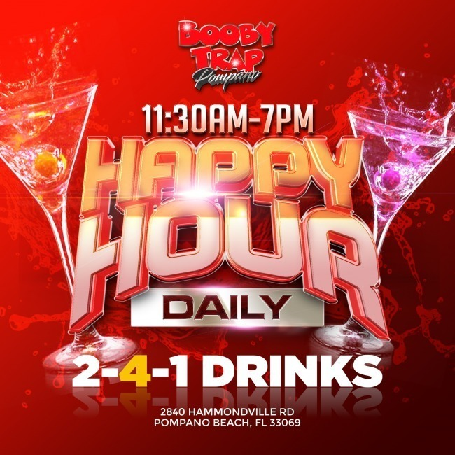 Happy hour diario 2-4-1 bebidas