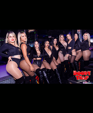 Full Nude Strip Club Doral  Booby Trap group of beautiful dancers