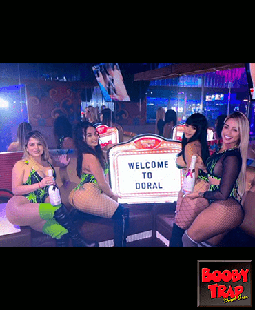 Doral, Miami Strip Club welcome to Doral sign