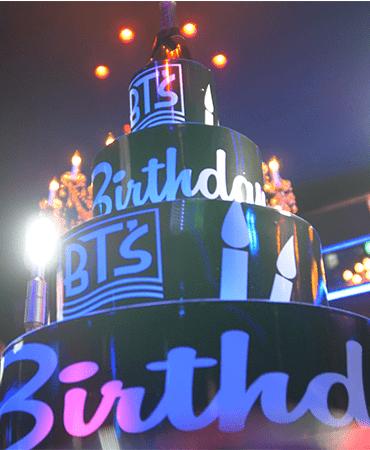 BTS Gentlemens birthday party